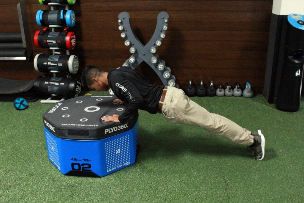 bodyweight chest workout incline pushuo