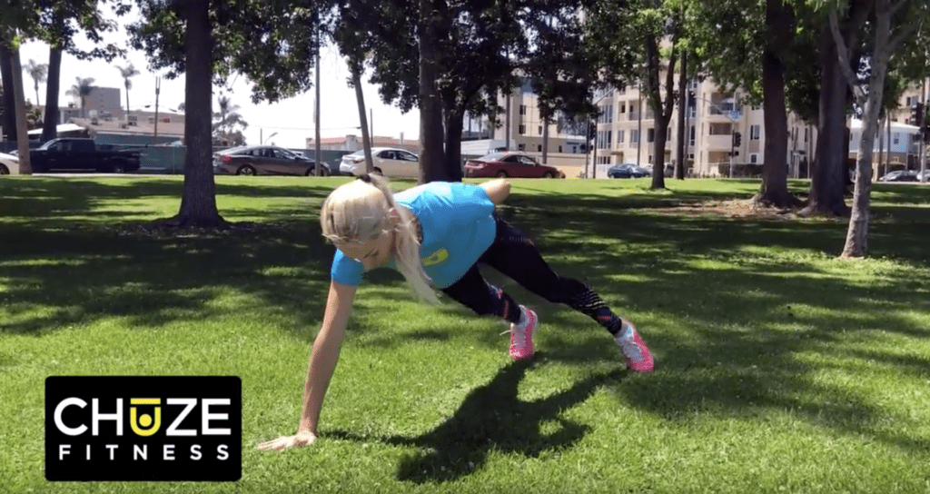 one armed bodyweight pushup